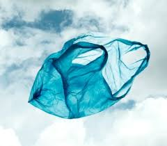 Free Flying Plastic Bag