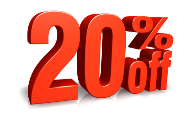 Get 20% Discount on your purchase