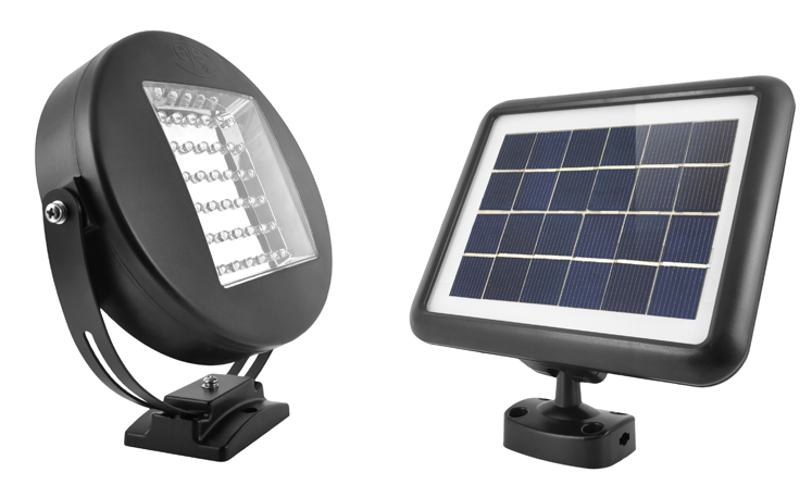 The Eye Solar Security Light