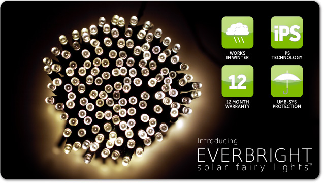 Everbright Solar Fairy Lights