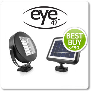 Eye Solar Security Light