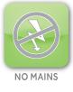 No Mains