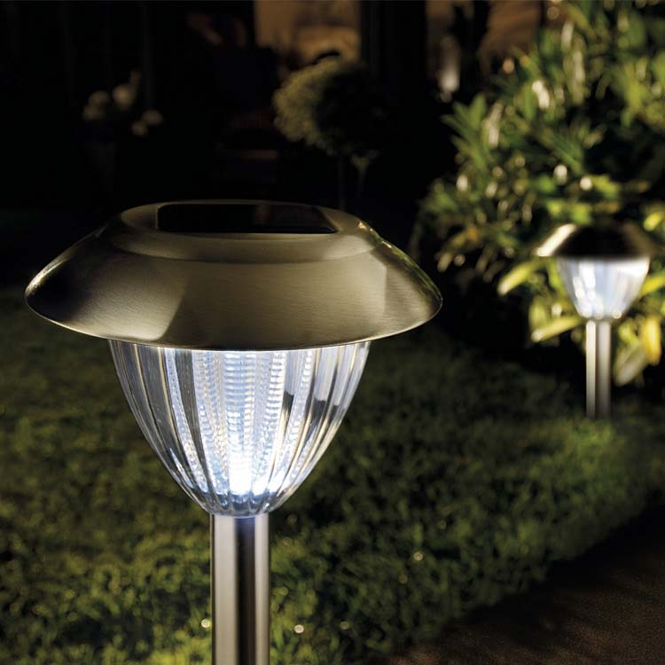 Solar Ultra Bright Stainless Steel Border Lights 2