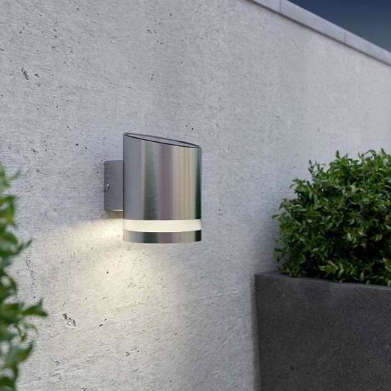 Truro Solar Wall Light