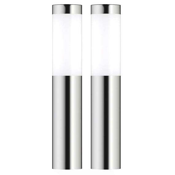 London XT Solar Post Lights (Set Of 2)