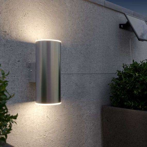 Chester Up & Down Solar Wall Light