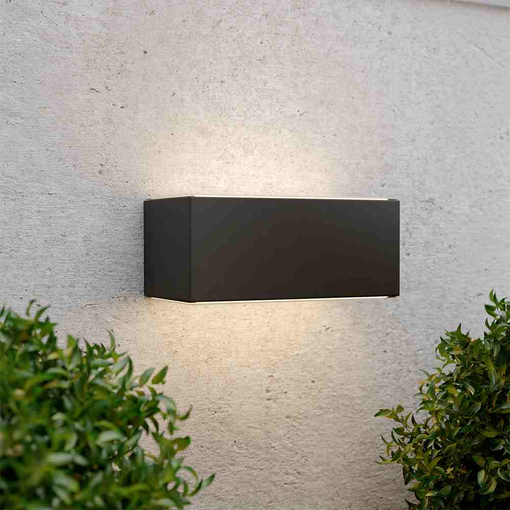 Chelsea Up & Down Solar Wall Light