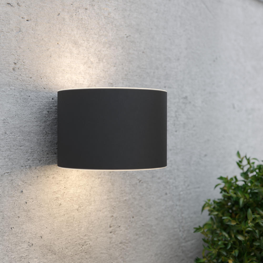 Gloucester Up & Down Solar Wall Light