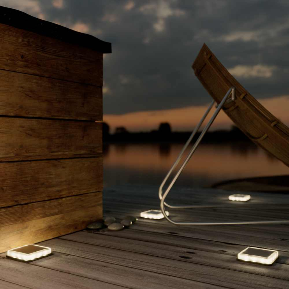 Lincoln Solar Decking Light