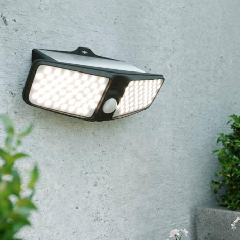 Eco Wedge Twin Solar Motion Light
