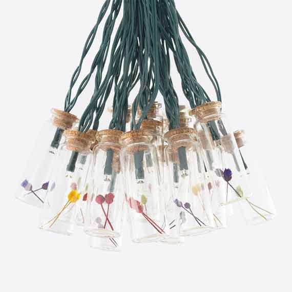 Lumify USB Solar Flower Jar Lights - Set Of 40