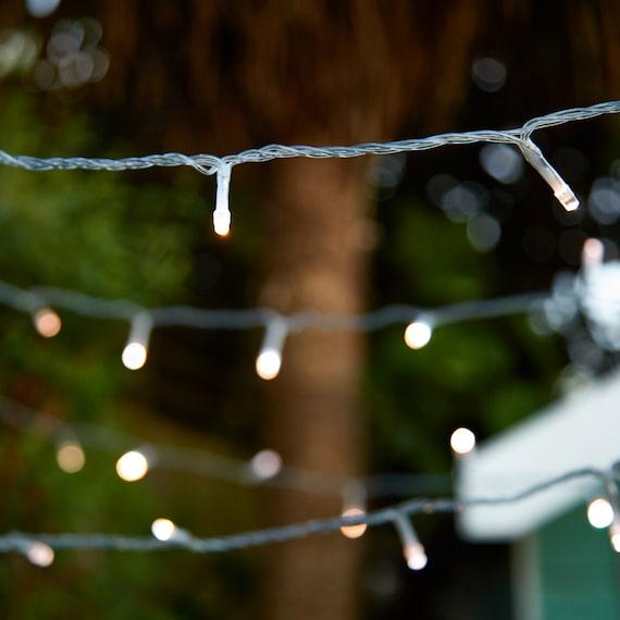 Lumify DualWhite USB Solar Fairy Lights - 100 LEDs