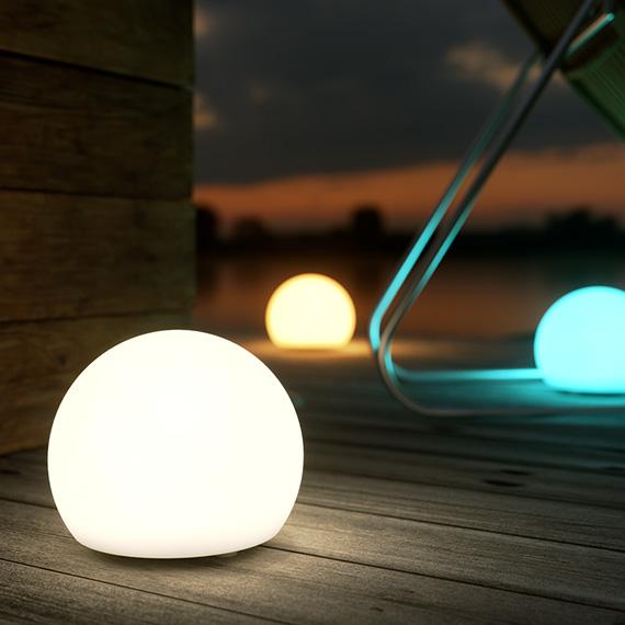ShapeLights Indoor & Outdoor USB Solar Powered Mood Light - Mini Sphere