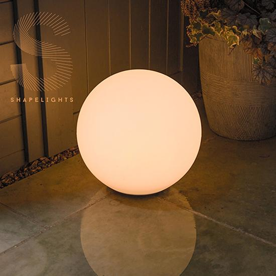 ShapeLights Indoor & Outdoor USB Solar Powered Mood Light - Sphere