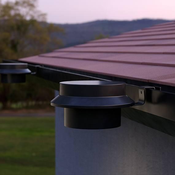 LuxShine Solar Gutter Light (Set Of 2)