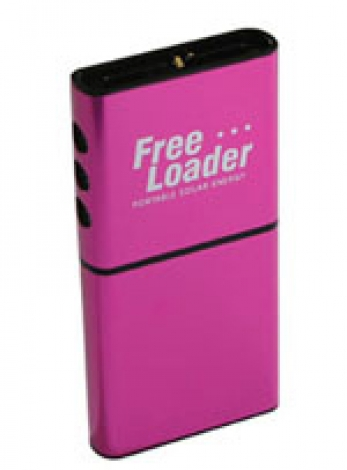 Freeloader - Portable Solar Energy (Pink)