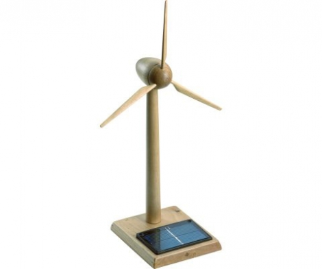 Big Wooden Turbine 30cms