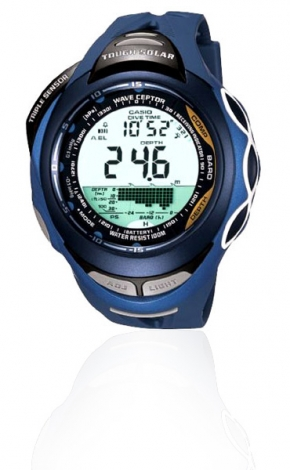 Casio Sea-Pathfinder Tough Solar Mens Watch (Spw-1000-2ver)