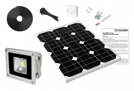 Geo Floodlight 10 - 10w 12v Solar LED Floodlight Kit