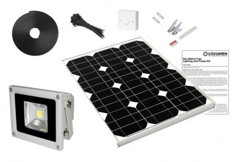 Geo Floodlight 20 - 20w 12v Solar LED Floodlight Kit
