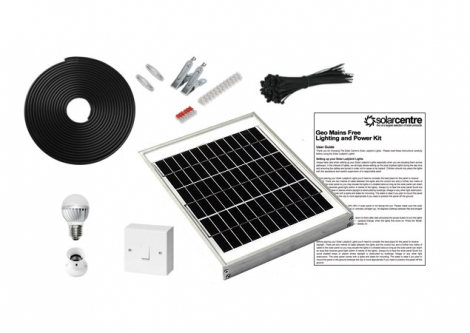 Geo 1 - Mains Free Solar Lighting Kit
