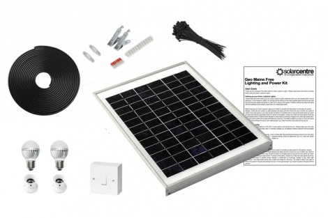 Geo 2 - Mains Free Solar Lighting Kit