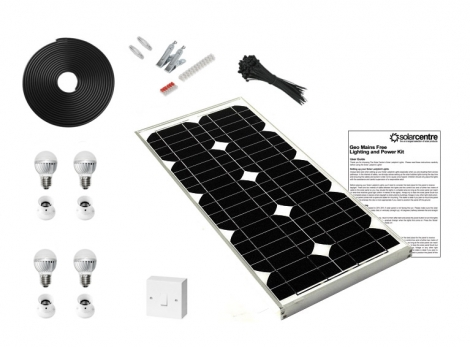 Geo 3 - Mains Free Solar Lighting Kit