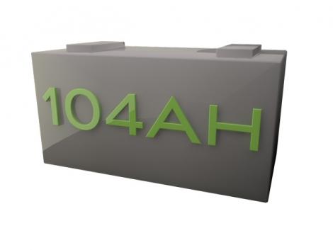 Sealed Gel 12volt 104AH Deep Cycle Battery