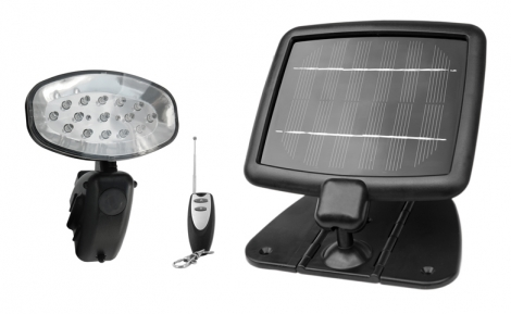 Evo15 Remote Controlled Solar Light