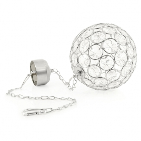 Aria solar crystal ball light