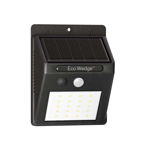 ECO Wedge Solar Motion Welcome Light