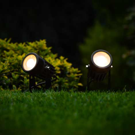Atlas Solar Spotlights (Set of 2)