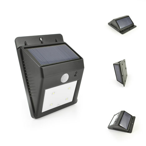 Image - Reviews ECO Wedge Solar Motion Welcome Light