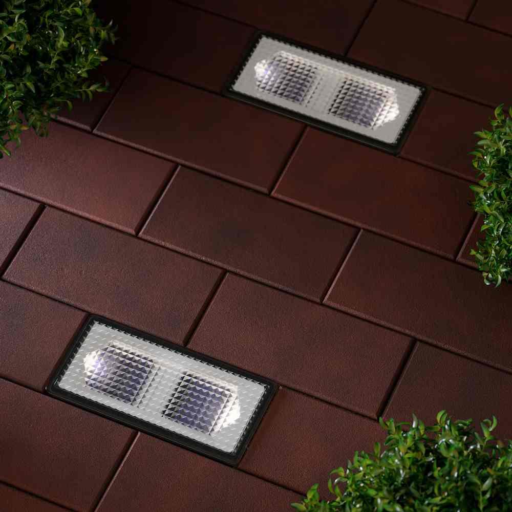 Paverlight Solar Brick Lights Set Of 2