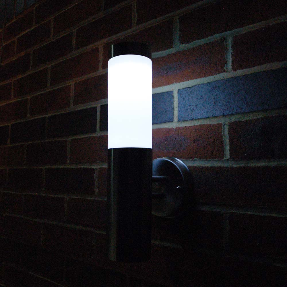 Flush Solar Wall Lights : Canterbury Solar Wall Light