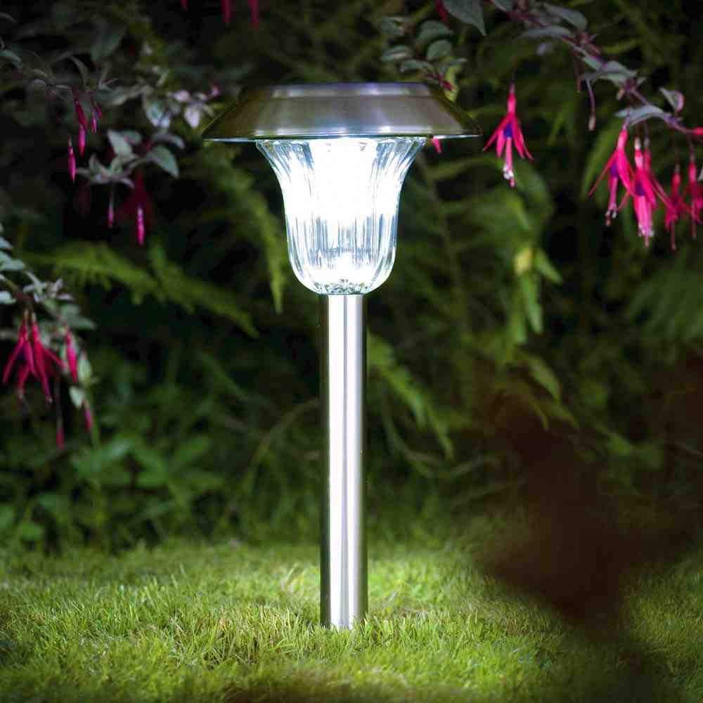 Torino solar garden light for Lampe de jardin a led