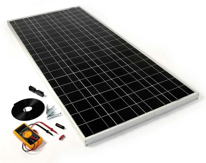 Diy Solar Panel Kit 120w