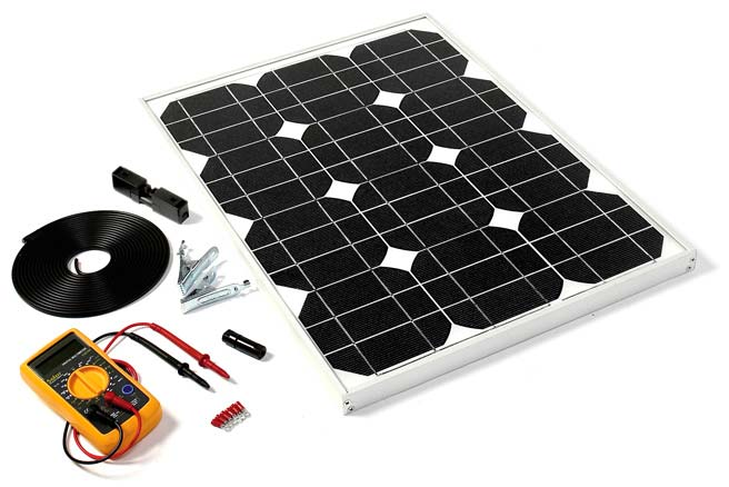 DIY Solar Panel Kit - 28W