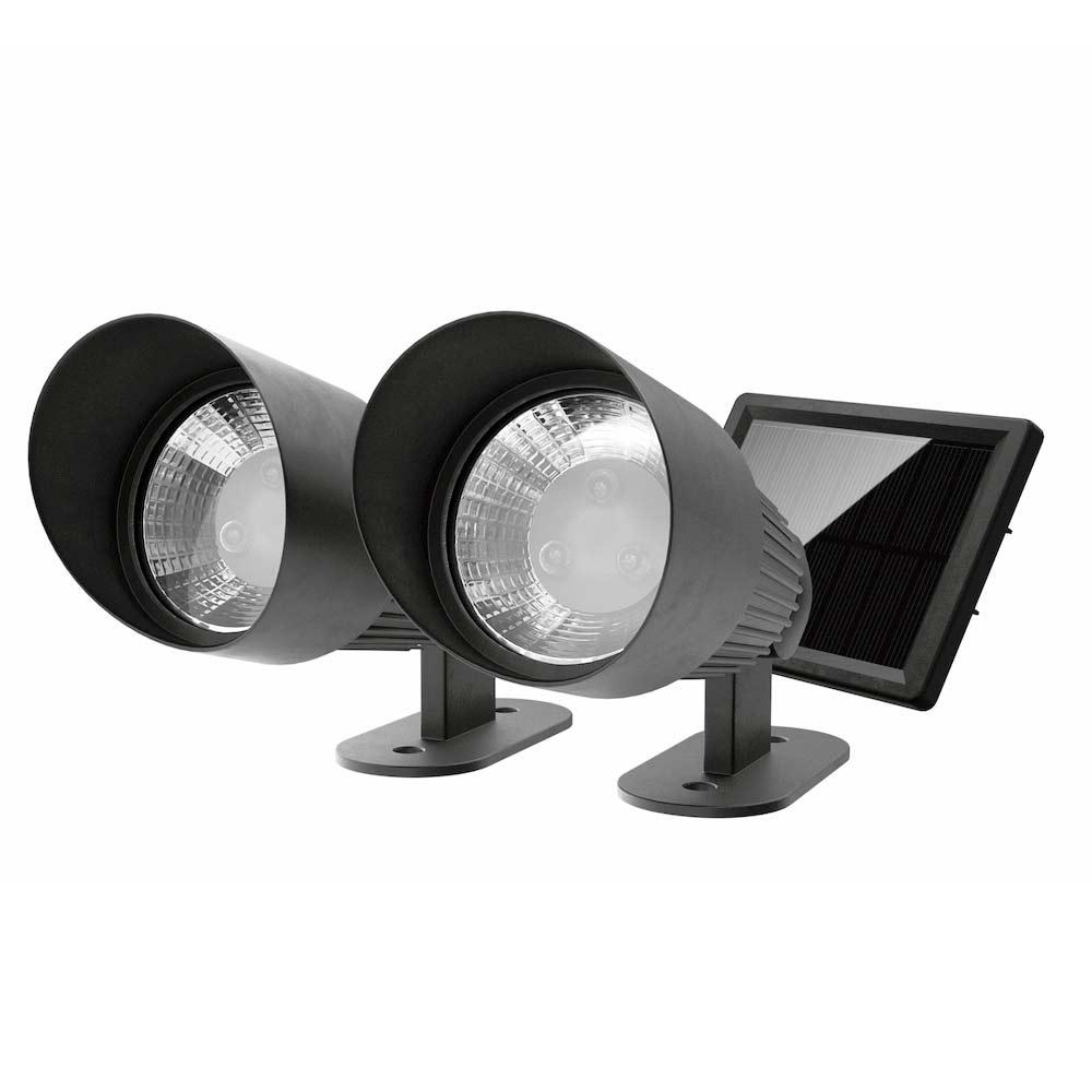 selene solar landscape spotlights set of 2. Black Bedroom Furniture Sets. Home Design Ideas