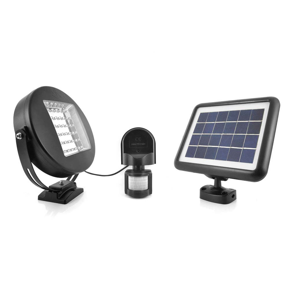 Eye Solar Security Light Flood Wiring Instructions Installing A Remote Motion Detector