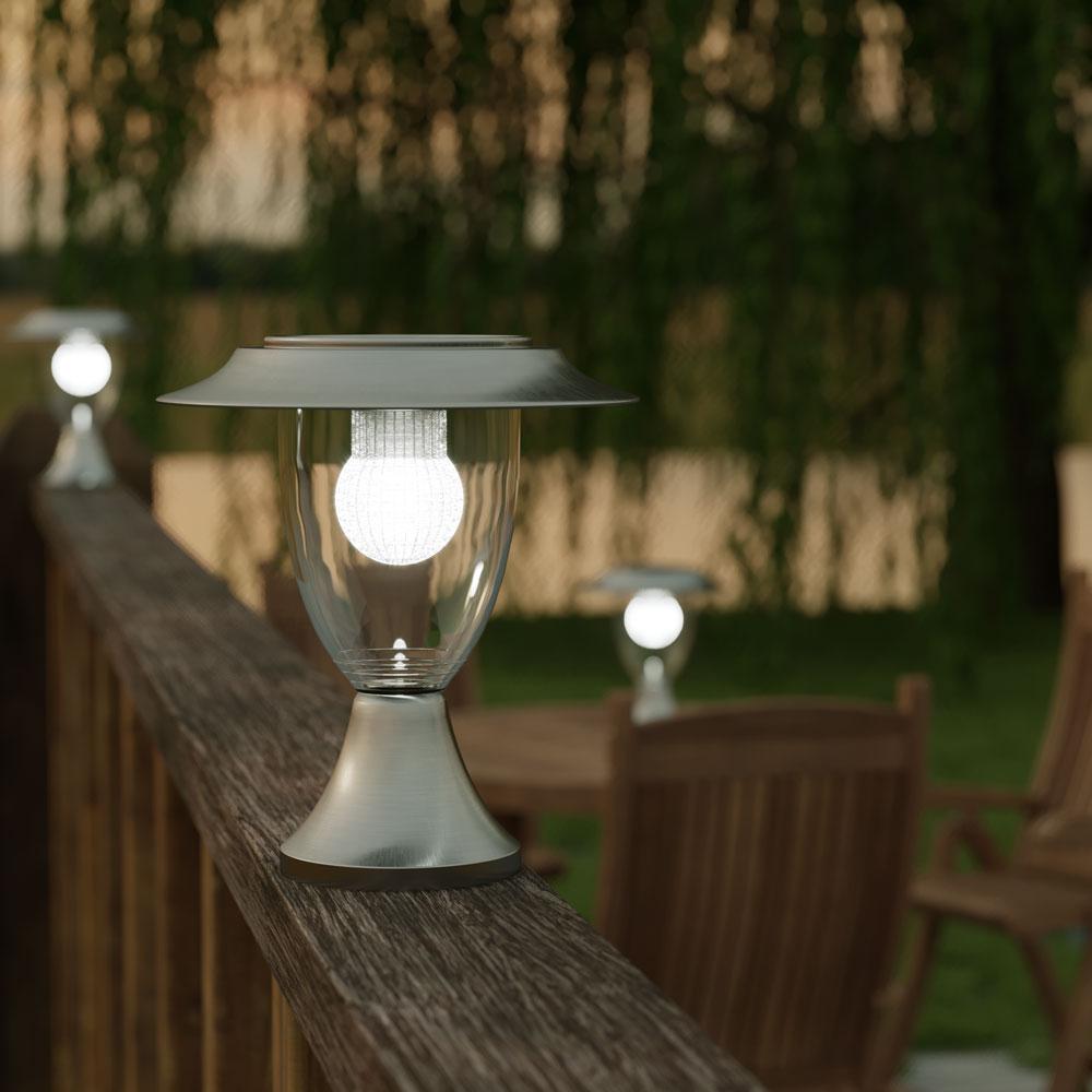 Henley Premium Solar Pillar Lantern Solar Lights Amp Solar