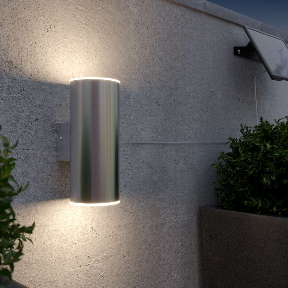 Chester Up Amp Down Solar Wall Light Solar Lights Amp Solar