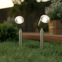 Apollo Solar Spotlights (Set Of 2)
