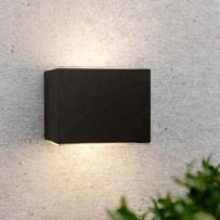 Avon Up & Down Solar Wall Light