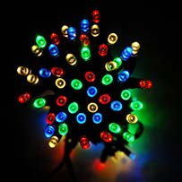 Everbright Solar Fairy Lights - Multi 100 LEDs
