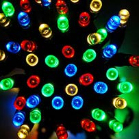 Solar Fairy Lights - Multi 300 LEDs
