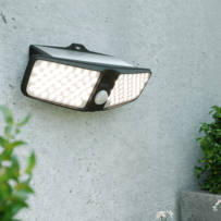 Eco Wedge Twin Solar Motion Light