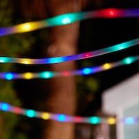 Madison Solar Tube Lights - Multicolour 200 LEDs