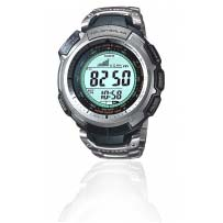 Casio Pro Trek Tough Solar Triple Sensor Mens Watch (Prg-110t-7vdr)