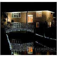Everbright Solar Fairy Lights - Net 200 LEDs